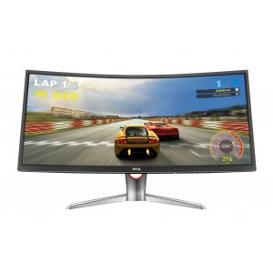 "Monitor BenQ XR3501 35"" CURVO LED FHD 60Hz 4ms Reacondicionado"