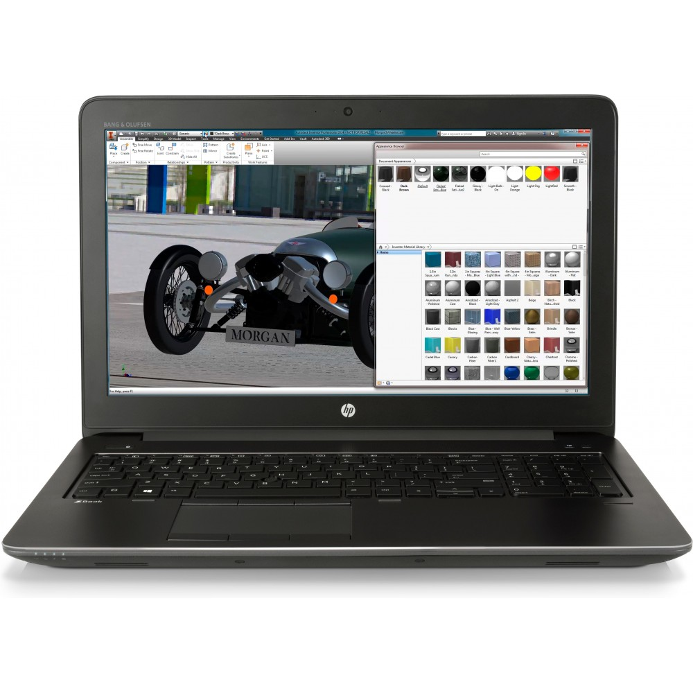 Portátil HP ZBook 15 G4 i7-7700HQ 8GB 256GB SSD 15.6 M 1200 Reacondicionado