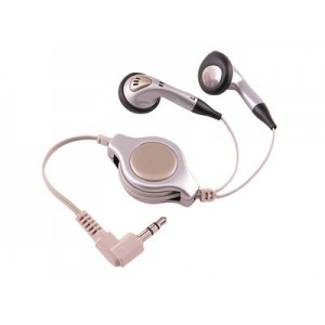 AURICULAR CON CABLE RETRACTIL ELBE AU-925-R 2.5mm