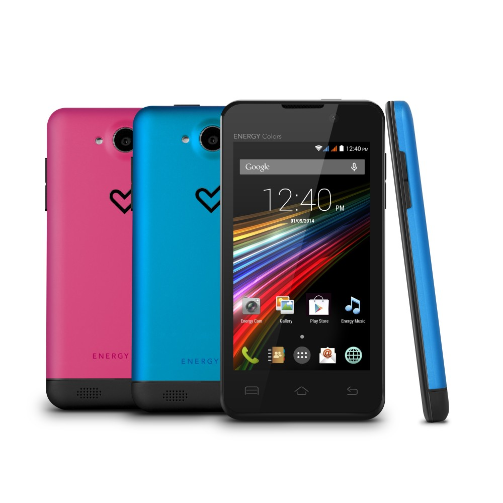 Smartphone Energy Phone Colors (Dual Core, 4 TFT, 3G, 4GB, Dual Reacondicionado