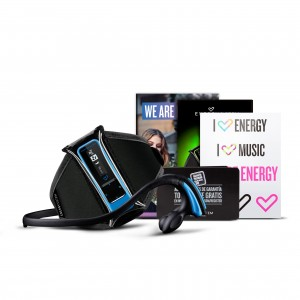 Energy Sistem MP3 Running Neon Blue 8GB Reacondicionado con Marcas de Uso
