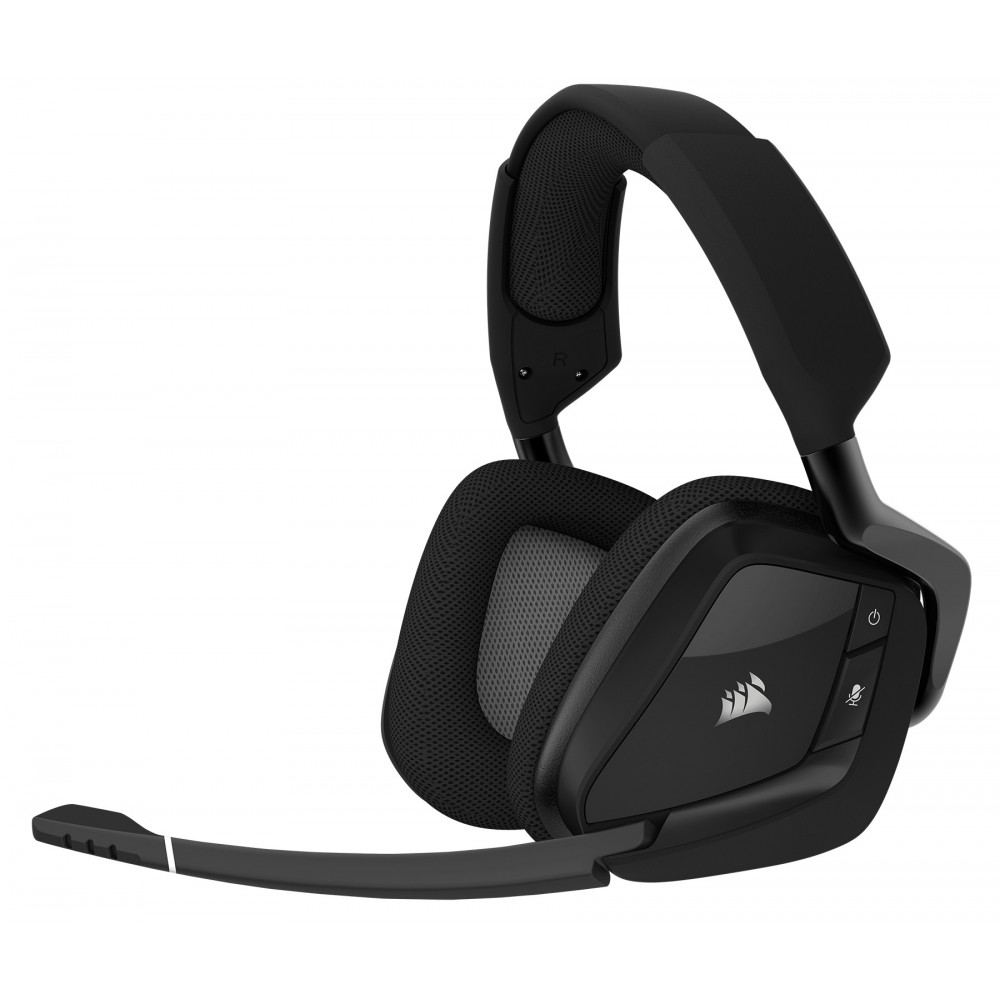 Corsair Void Pro Gaming 7.1 RGB Wireless Negros Reacondicionado