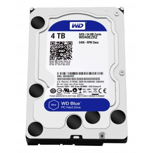 Western Digital 4TB 6GBseg 64Mb Disco Duro Reacondicionado