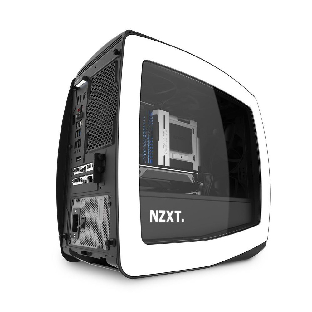 NZXT Manta Mini-ITX Blanca Reacondicionado