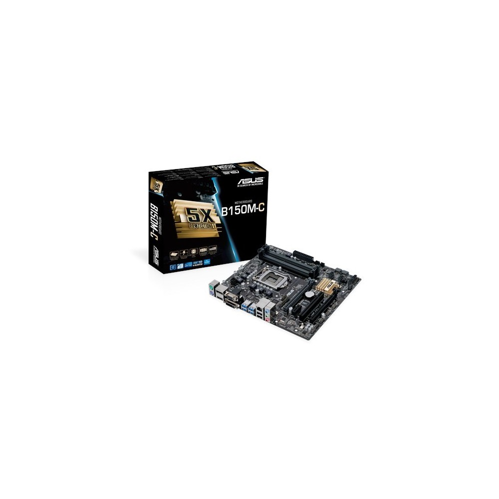 Asus Placa Base MICROATX B150M-C Reacondicionado