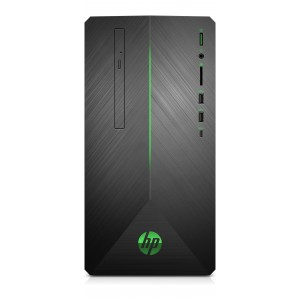 HP Pavilion Gaming 690-0022no RYZEN5-2600 12GB 1TB 256GB SSD GTX 1050 Sobremesa Reacondicionado