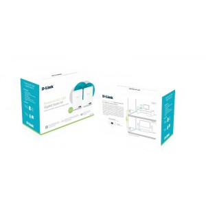 D-Link DHP-601AV AV2 1000 HD Gigabit Starter kit Reacondicionado