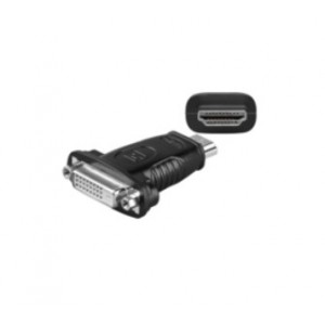Microconnect HDM1924F - Adaptador para cable (DVI 24+1, HDMI 19-Pin, Macho Hembra, Negro)